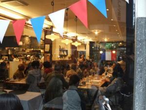 円頓寺商店街 秋のパリ祭2015 西アサヒ にて シャンソンライブ