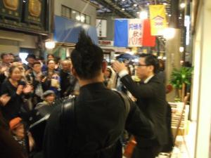 円頓寺商店街 秋のパリ祭2015 ザッハトルテ @野田仙/月ののうさ