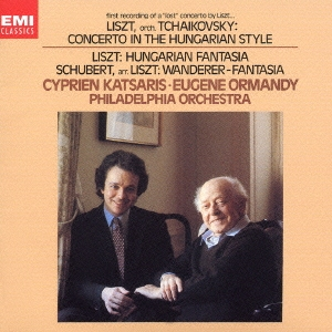 "first recording of a ""lost"" concerto by Liszt, Katsaris & Ormandy"