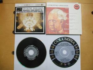 CDラベルデザインの比較・・・米Columbia Masterworks(Sony Classical)の例