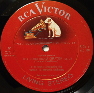 RCA Victor Red Seal LSC-2077 Reiner & VPO Label